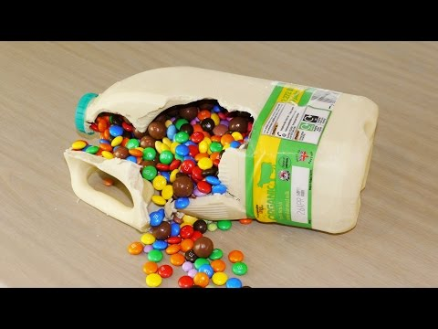 Chocolate Milk Bottle Surprise – Food Life Hacks