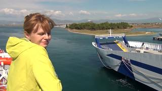 Greece, Thassos, Anassa M ferry boat. 25-Sep-2016.