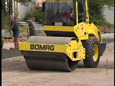 Грунтовые катки  Bomag 4 серии