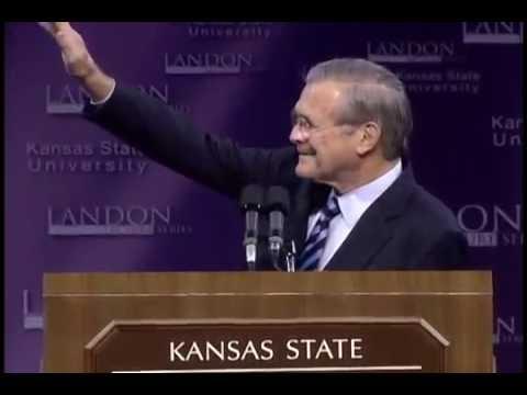 Landon Lecture | Donald Rumsfeld