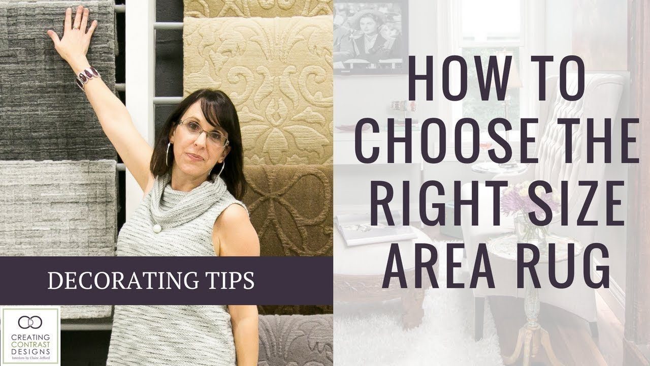 Choose the Right Size of Area Rug