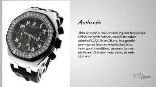 See this pre owned Audemars Piguet 26282SK.ZZ.D101CR.01 Royal Oak Offshore 57th Street Watch Mp3