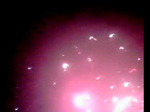 Bắn pháo hoa ở Đầm Sen giao thừa năm 2011