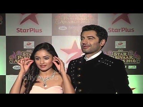 Harshad and Tridha  Star Parivar Awards..