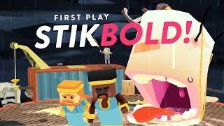 Stikbold! - A Dodgeball Adventure - FIRST PLAY