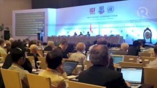 Leaders at Bali internet forum concerned over US surveillance