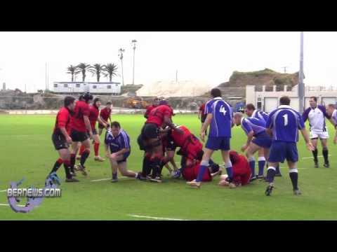Men's Rugby Police vs Teachers Bermuda Jan 30th 2011