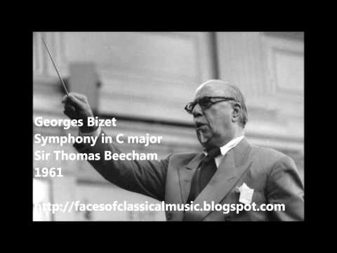 Georges Bizet: Symphony in C major - Sir Thomas Beecham (Audio video)