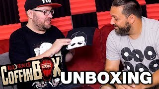 Rue Morgue Coffin Box August Unboxing! - Horror Movie Subscription Box