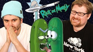 Cringing at Rick & Morty Memes w/ The Show's Creator Justin Roiland