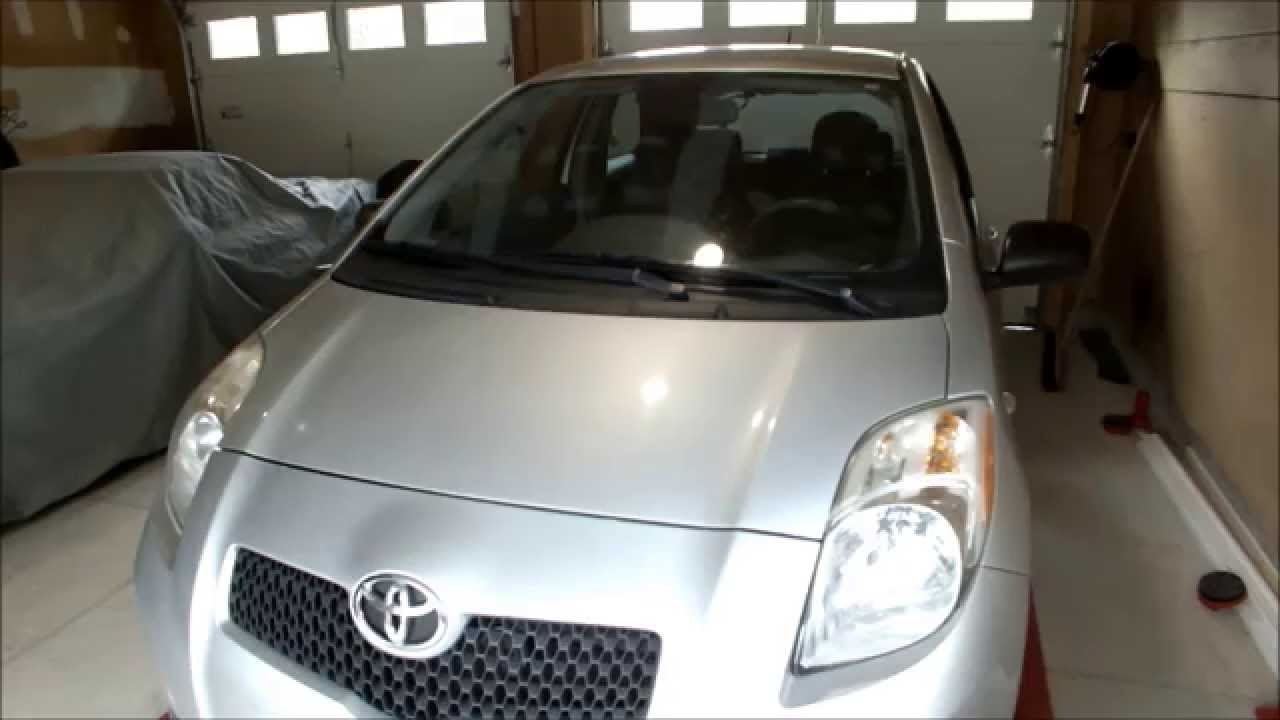 change your air filter toyota yaris easiest in the world [ 1280 x 720 Pixel ]