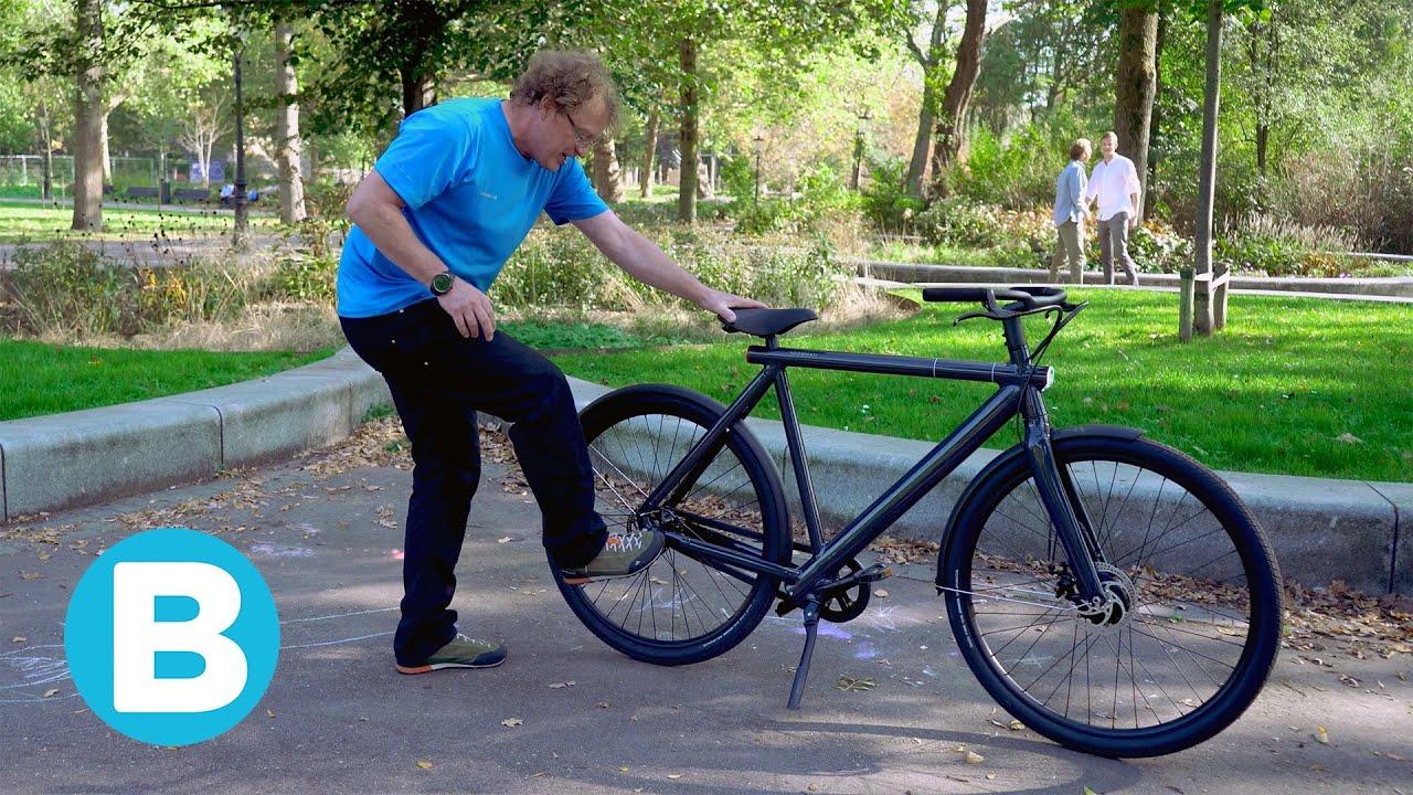 Lichte E Bike : Zo werkt het schopslot van de nieuwe e bike van vanmoof 🚲 youtube