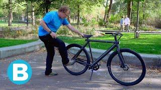 Zo werkt het 'schopslot' van de nieuwe e-bike van VanMoof 🚲