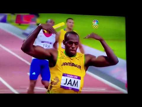 Usain bolt  Olympic 400 meters