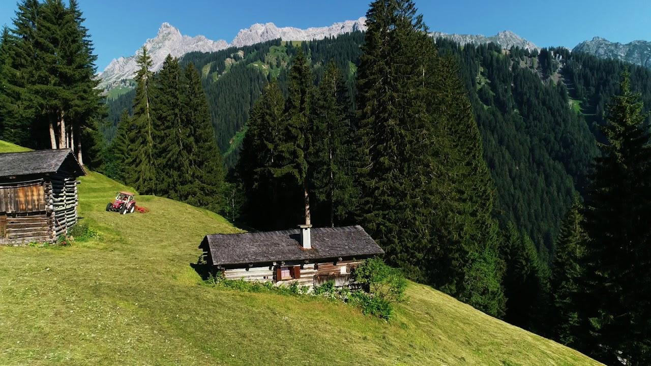 Die einzigartige Maisäßlandschaft des Montafon | Vorarlberg