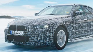 2021 BMW i4 – Cold testing in the Arctic Circle