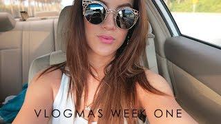 VLOGMAS | Week 1 (12/1/2013-12/8/2013)