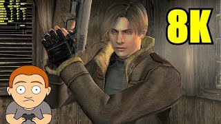 Resident Evil 4 HD Project MOD 8K GTX 1080 TI Frame Rate Performance Test