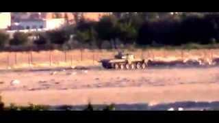 Смерть танка ...  Сирия.
