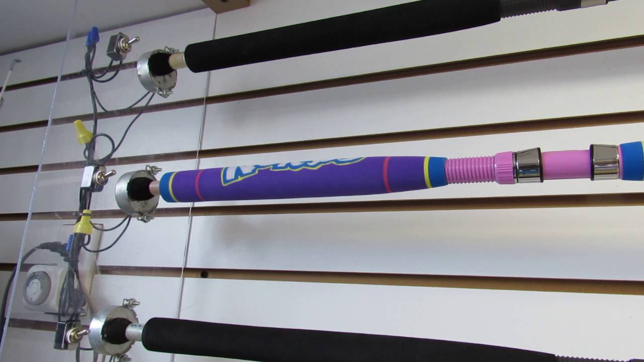 Rodgeeks custom fishing rods shop tour 5 10 16 youtube for Personalized fishing rods