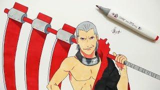 Drawing Hidan - Naruto Shippuden
