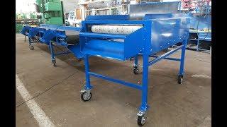 видео Оборудование для заводов по переработке картофеля