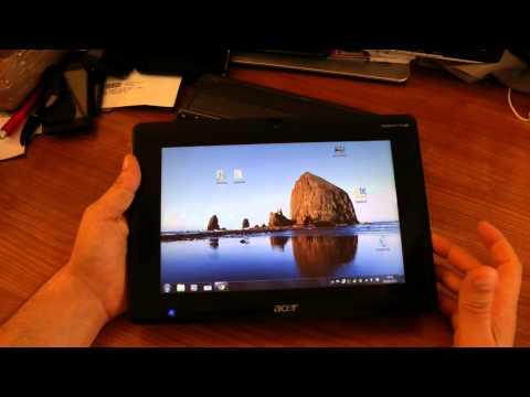 Acer Iconia Tab W500 video recensione HDblog