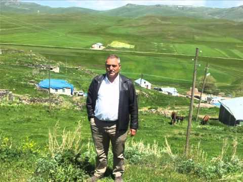 kars karaçoban köyü  ve çıldır gölü- foto klibi-  tucay ikan- 2013