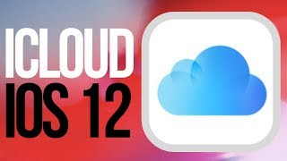 Where is iCloud in iOS 12 ? iPad iPhone iPod