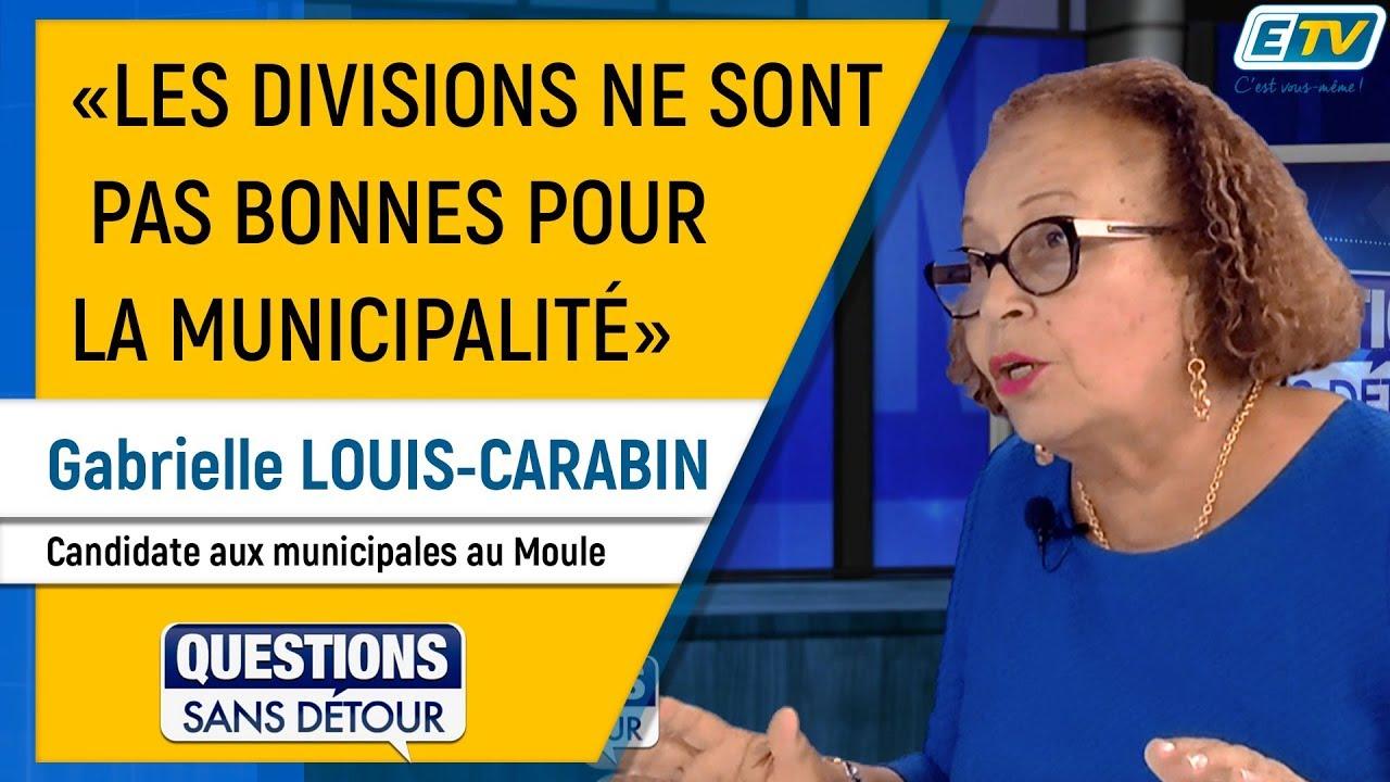 Questions Sans Détour avec Gabrielle LOUIS-CARABIN
