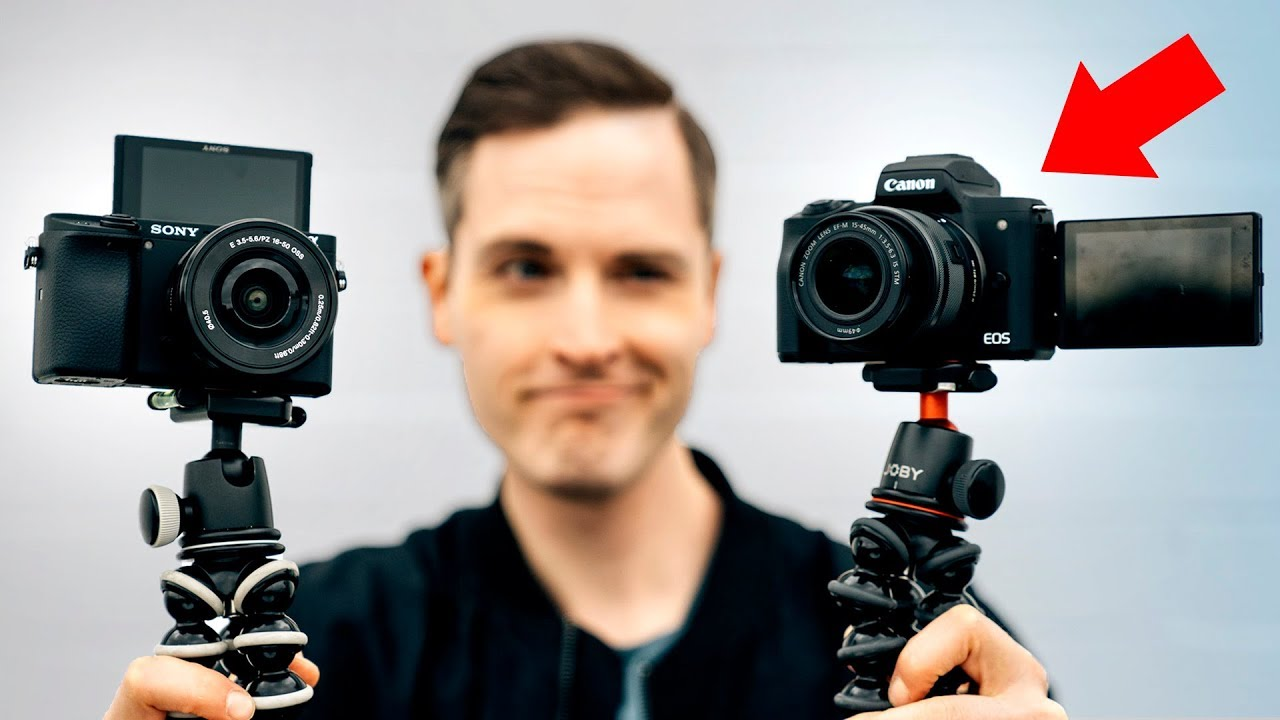 Best Camera for YouTube? Canon M50 VS  Sony A6400