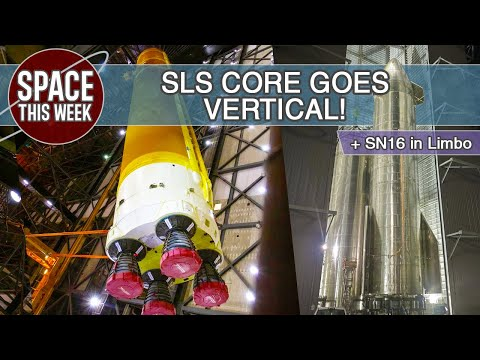 Starship SN16 Fate Unknown, SuperHeavy Approaches, SLS CS Nears Completion, & Blue Origin Ends Bid!