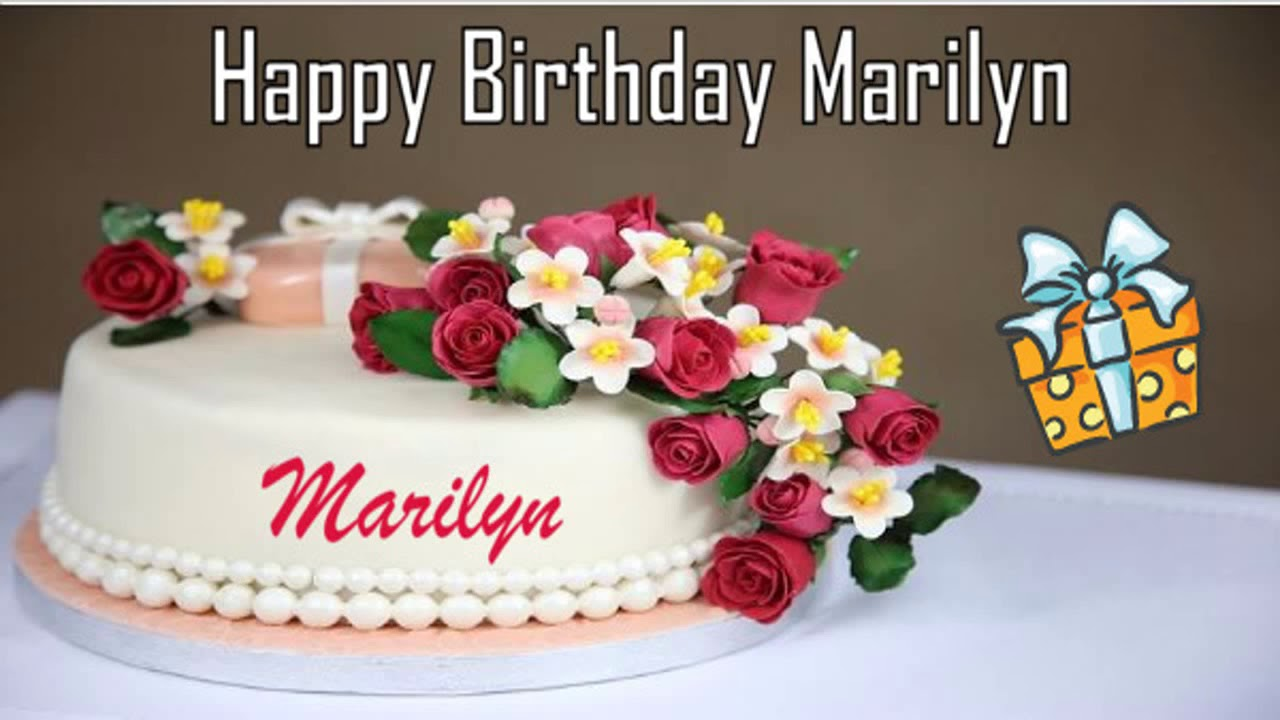 Happy Birthday Marilyn Image Wishes Youtube