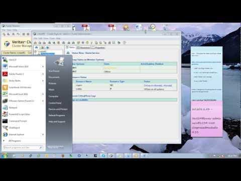 Vertas Cluster Configuraiton for NFS Server on RHEL5 part3