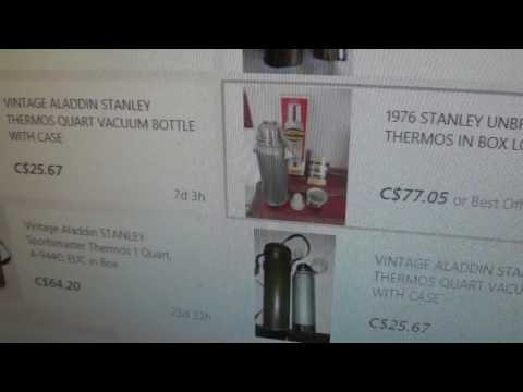 How to Use Ebay  To Get Aladdin Stanley Thermos
