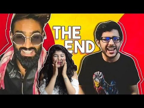 YOUTUBE VS TIK TOK_ THE END-CarryMinati | Reaction | CuteBox | Pooja Rathi