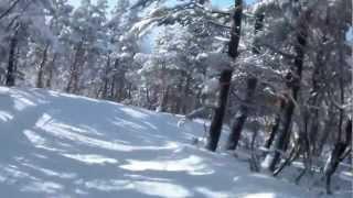 13-01-27 大山桝水高原スキー場 林間コース