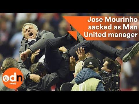 Jose Mourinho sacked as Manchester United manager