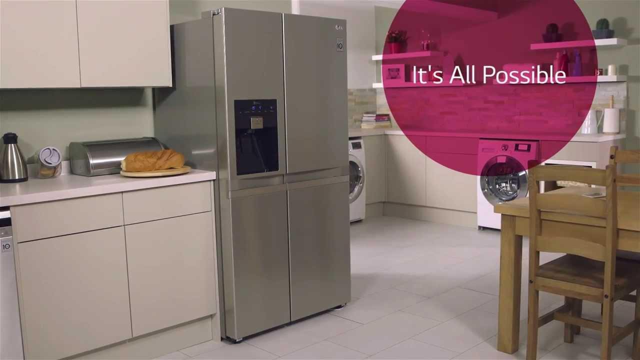 Lg Non Plumbed Fridge Freezer Benefits Youtube