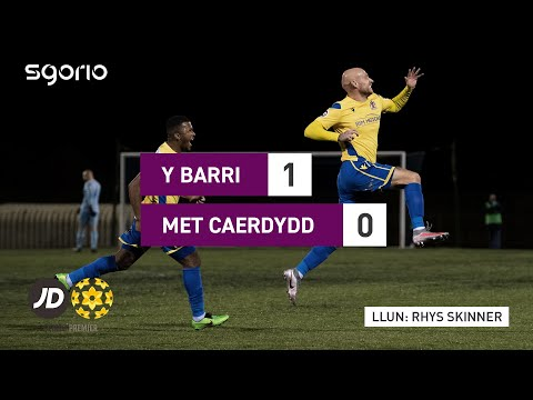 Barry Cardiff Metropolitan Goals And Highlights