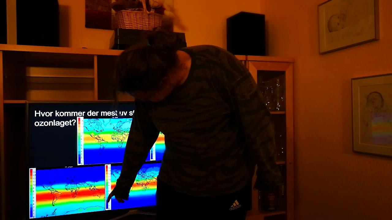 Hvor kommer der mest uv stråling gennem ozonlaget 1