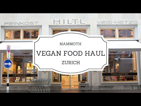 🇨🇭 Grocery Haul for Trekking as a Vegan in Switzerland 🏔