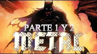 JUSTICE LEAGUE CONTRA EL DIOS MURCIELAGO DE METAL - (batman metal) parte 1 y 2