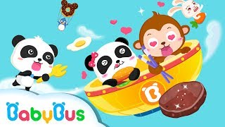 Dont Waste Food Animation For Babies Babybus