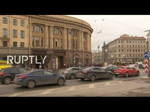 LIVE: Morning after St. Petersburg's metro blast