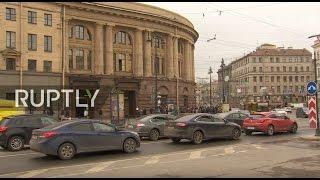 LIVE  Morning after St  Petersburg's metro blast