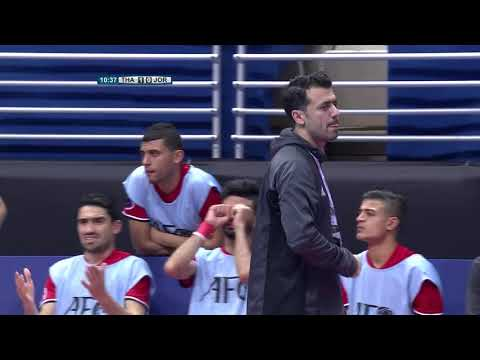 Thailand 5-1 Jordan (AFC Futsal Championship 2018: Group Stage)