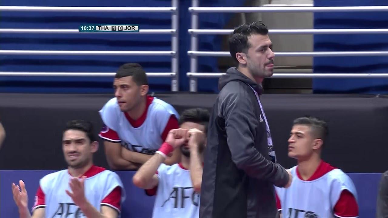 Video: Futsal Thái Lan vs Futsal Jordan