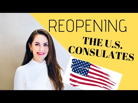 US EMBASSIES REOPENING AROUND THE WORLD | E2 Visa Update 🌟