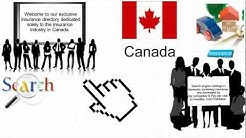 Canadian Insurance Directory - A comprehensive directory for Insurance Agents